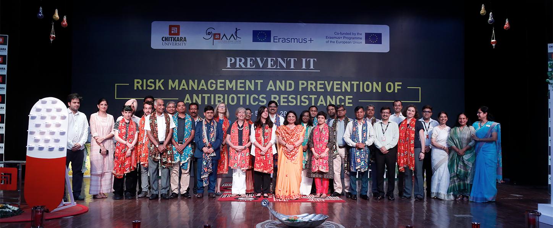 FIRST EMPOWERMENT CAMP , Chitkara University , India (July 1 to 5th July 2019)