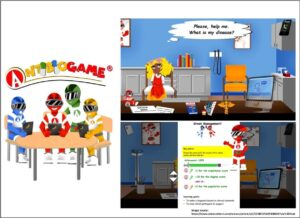 AntibioGame®: A serious game for teaching medical students about antibiotic use