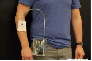 Wearable and flexible ozone generating system for treatment of infected dermal wounds