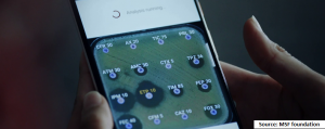 AI-based mobile application to fight antibiotic resistance