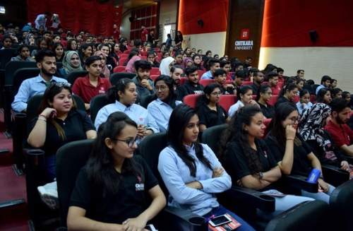 Packed House during dissemination event