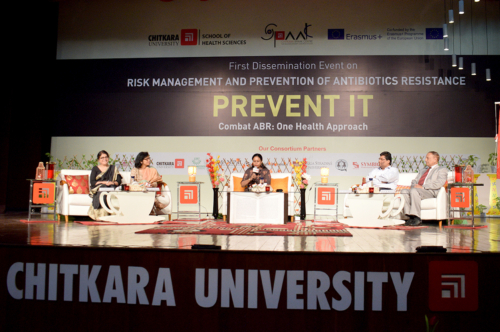 Panel discussion led by Dr. Meenakshi Sood  during dissemination event  on ABR at Chitkara University