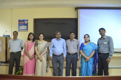The team of Professors behind the   Dissemination Event