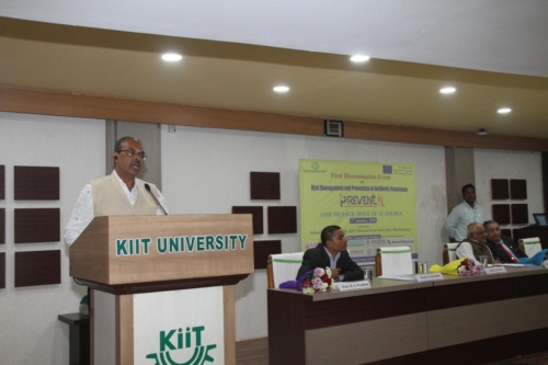 Dr. Sushil Kumar sharing his views on ABR and its prevention