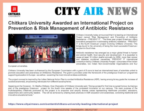 CITY AIR NEWS covers aboyt PREVENT IT